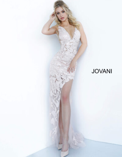 Jovani Prom Rose gold