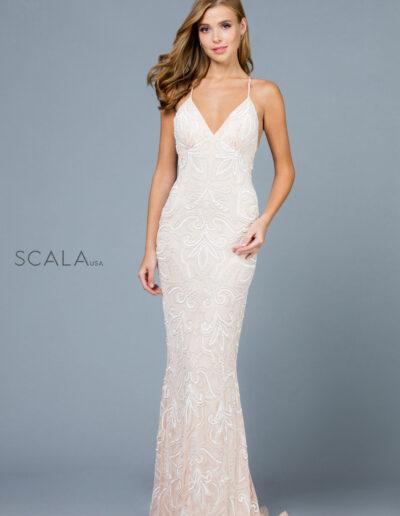 Scala Prom Ivory Blush