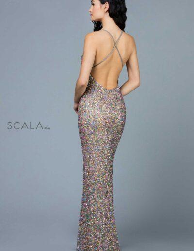Scala Prom Lead Rainbow Back