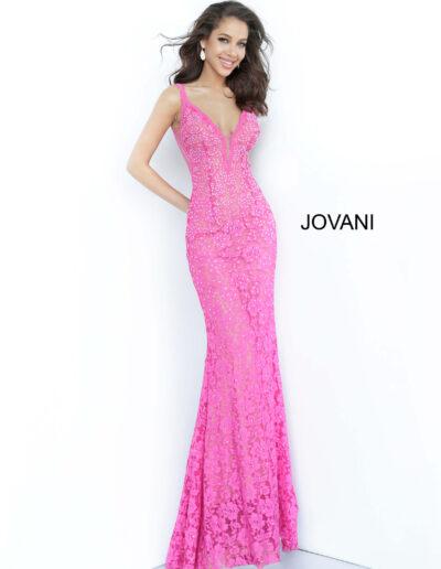 Jovani Prom Bright Pink