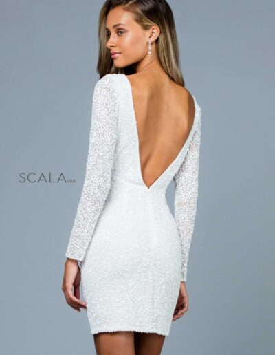 Scala Evening Ivory Back