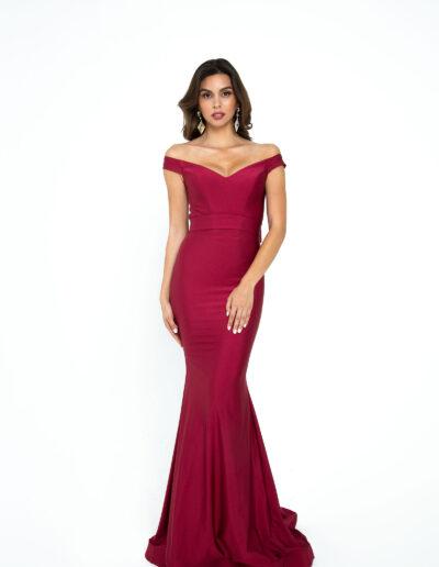 Atria Beet Red dress
