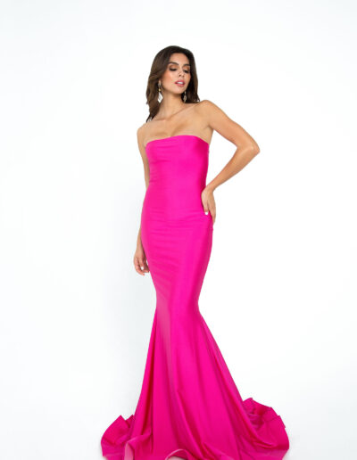 Atria fuschia dress