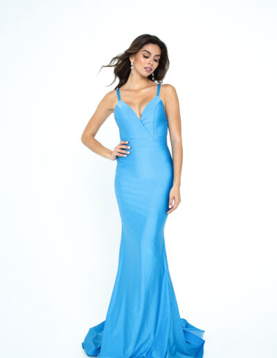 Atria blue dress
