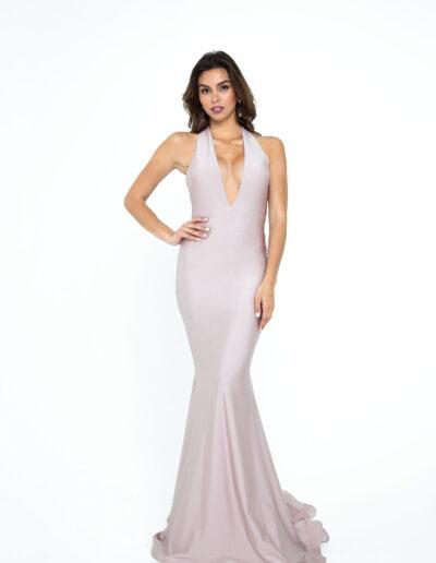 Atria blush dress