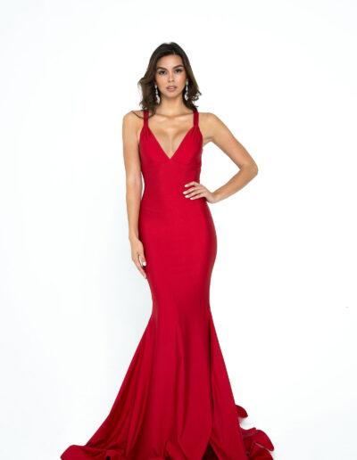 Atria red dress