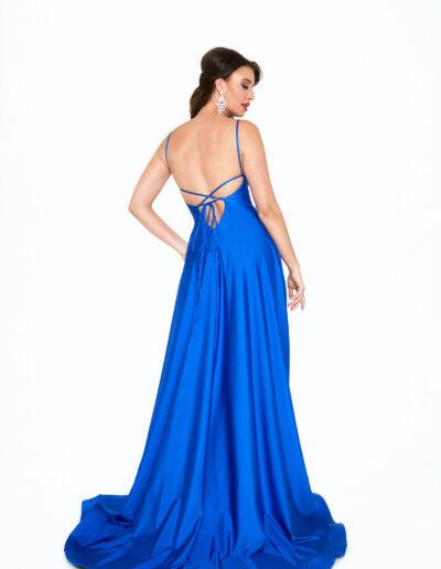 Atria Royal blue dress back