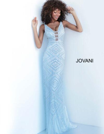 Jovani Prom Silver Blue