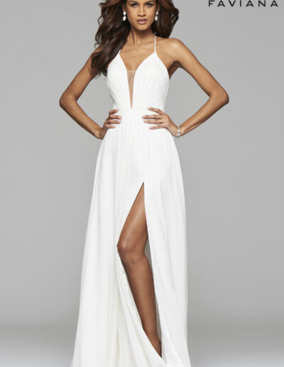 Faviana Prom Deep Ivory Dress