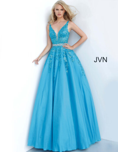 JVN By Jovani Prom Teal