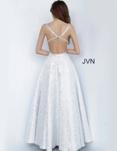 JVN By Jovani Prom Silver Back
