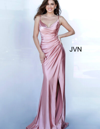 JVN By Jovani Prom Dusty Pink