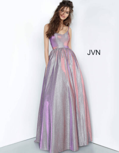 JVN By Jovani Prom Purple Front
