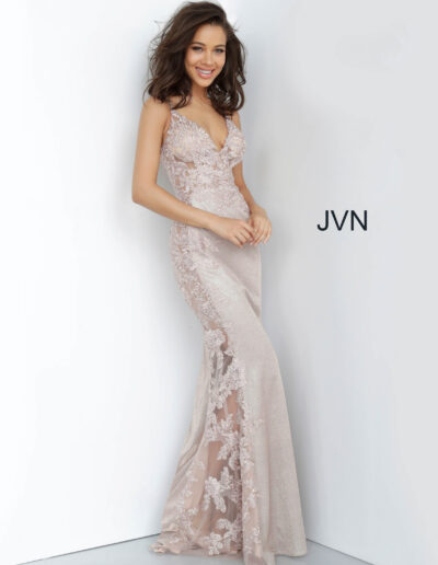 JVN By Jovani Prom Nude Side
