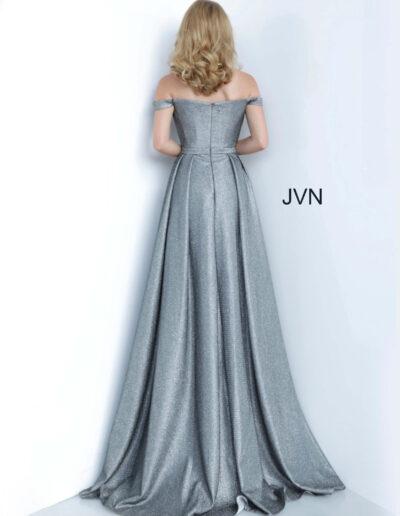 JVN By Jovani Prom Grey Back