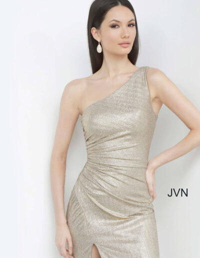 Jovani Evening Gold Front