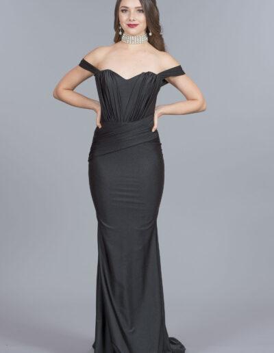 Atria black dress