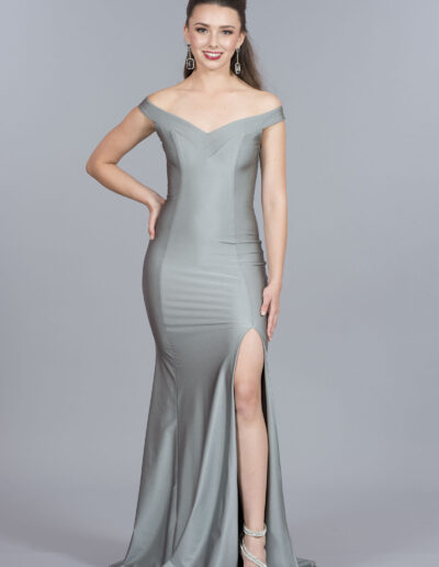 Atria Silver dress