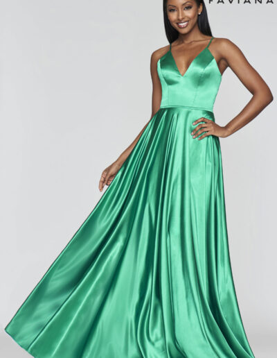 Faviana Prom Emerald Dress
