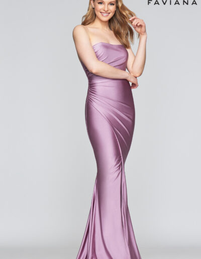 Faviana Prom Deep Mauve Dress