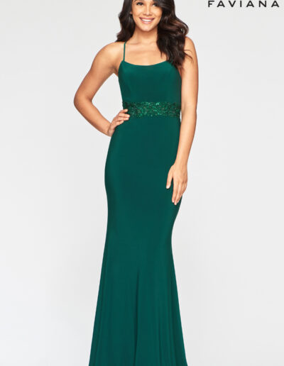 Faviana Prom Evergreen Dress
